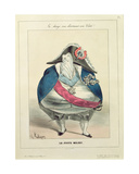 'The Happy Medium', Caricature of Louis-Philippe (1773-1850) Giclee Print by Charles Philipon