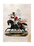 Soldier from the First Regiment of Life Guards, from 'Costumes of the Army of the British Empire,… Giclee Print by Charles Hamilton Smith