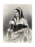 Isabella I (1451-1504) 'The Catholic', Illustration from 'World Noted Women' by Mary Cowden… Giclee Print by Pierre Gustave Eugene Staal