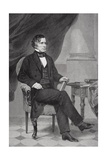 Portrait of Franklin Pierce (1804-69) Giclee Print by Alonzo Chappel