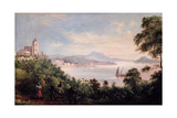 The City Seen from the Church of Nossa Senhora Da Gloria De Outeiro, C.1847 Giclee Print by Raymond Quinsac Monvoisin