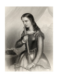 Joan of Arc (1412-31) Illustration from 'World Noted Women' by Mary Cowden Clarke, 1858 Giclee Print by Pierre Gustave Eugene Staal