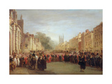 Reception of the Prince Regent, 1814 Giclee Print by George Jones