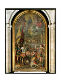 The Martyrdom of St. Maurice Giclee Print by Romulo Cincinnato