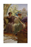 Unwelcome Confidence, 1895 Giclee Print by Sir Lawrence Alma-Tadema