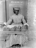 Woman Selling Breadfruit, Trinidad and Tobago, 1899-1901 Photographic Print by Harry Hamilton Johnston