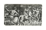Lovers Borne in Triumph by Sea Gods, 1520-26 Giclee Print by Albrecht Altdorfer