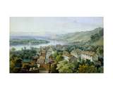 A View of Karlsruhe Giclee Print by Thomas Sidney Cooper