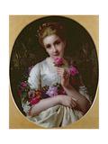 Flora, 1872 Giclee Print by Heinrich Wilhelm Schlesinger