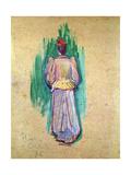 La Promeneuse Giclee Print by Henri de Toulouse-Lautrec