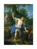Narcissus and Echo Giclee Print by Placido Costanzi