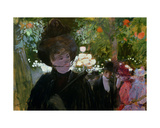 The Garden in Paris, C.1882 Giclee Print by Jean Louis Forain