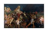 The Triumph of the Innocents, 1876 Giclée-tryk af William Holman Hunt