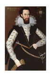 Portrait of Sir William Stewart of Grandtully (1567-1646) 1613 Giclee Print by Adam de Colone