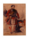 George IV in Highland Dress at the Palace of Holyrood, 1822 Giclee Print by Sir David Wilkie