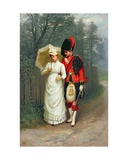 An Officer and His Lady Giclee Print by Jane Maria Bowkett