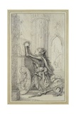 Study of St. Joan of Arc Giclee Print by Richard Cosway