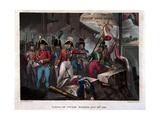 Taking of Ciudad Rodrigo on 19th January 1812, Published 1818 Giclee Print by William Heath
