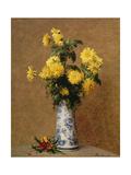 Chrysanthemums, 1879 Giclee Print by Henri Fantin-Latour