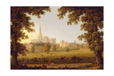 Chichester Cathedral, 1833 Giclee Print by Joseph Francis Gilbert
