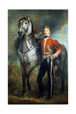 Major George Cunningham (1783-1838) C.1820 Giclee Print by James Howe
