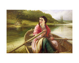 The Ferryman's Daughter, 1869 Giclee Print by Thomas Brooks