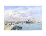 View of Venice, 1895 Giclee Print by Eugène Boudin