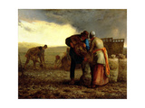 The Potato Harvest, 1855 Giclee Print by Jean-François Millet