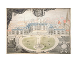 Project for Restoration of the Palace of the Dukes of Burgundy in Dijon, 1698 Giclee Print by Jules Hardouin Mansart