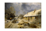 Burns's Cottage, Alloway, 1876 Giclee Print by Samuel Bough