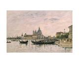 Santa Maria Della Salute and the Dogana, Venice, 1895 Giclee Print by Eugène Boudin