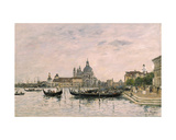 Santa Maria Della Salute and the Dogana, Venice, 1895 Giclee Print by Eugene Louis Boudin