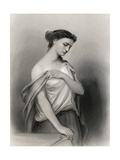 Lucretia, Illustration from 'World Noted Women' by Mary Cowden Clarke, 1858 Giclee Print by Pierre Gustave Eugene Staal