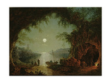 A Moonlit Cove Giclee Print by Sebastian Pether