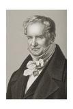 Friedrich Heinrich Alexander Humboldt (1769-1859), Baron Von Humboldt, Engraved by D.J. Pound… Giclee Print by John Jabez Edwin Paisley Mayall