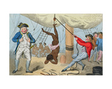 The Abolition of the Slave Trade, 1792 Giclee Print by Isaac Cruikshank