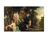 Judgement of Paris Giclee Print by  Gerard de Lairesse and Paul Pynacker