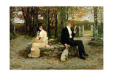 The Waning Honeymoon, 1878 Giclee Print by George Henry Boughton