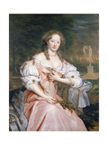 Portrait of Grace Wilbraham (1656-1744) Giclee Print by John Michael Wright