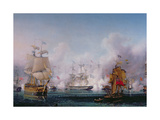 Episode of the Battle of Navarino, 20th October 1827, C.1853 Giclee Print by Ambroise-Louis Garneray