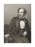 Albert Smith (1816-60) Engraved by D.J. Pound from a Photograph, from 'The Drawing-Room of… Giclee Print by John Jabez Edwin Paisley Mayall