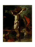 Christ on the Cross, 1846 Giclee Print by Eugene Delacroix