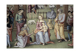 The Epiphany - Adoration of the Magi Giclee Print by Pietro Perugino