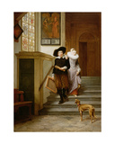 Frans Hals (1580-1666) and His Wife Lysbeth Reyniersdr Giclee Print by Gerrit Postma