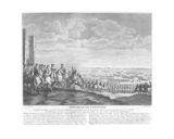 The Battle of Fontenoy, 11th May 1745, 1828 Giclee Print by Charles Nicolas II Cochin