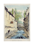 Knights' Bridge, London, C.1825 Giclee Print by Giles Firman Phillips
