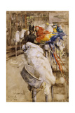The Aviary, Clifton, 1888 Giclee Print by Joseph Crawhall