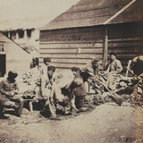 Tartar Labourers Photographic Print by Roger Fenton
