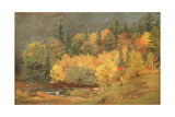 Autumn by the Brook, 1855 Giclee Print by Jasper Francis Cropsey