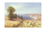 Harvest Time by the Sea, 1881 Giclee Print by Edmund George Warren